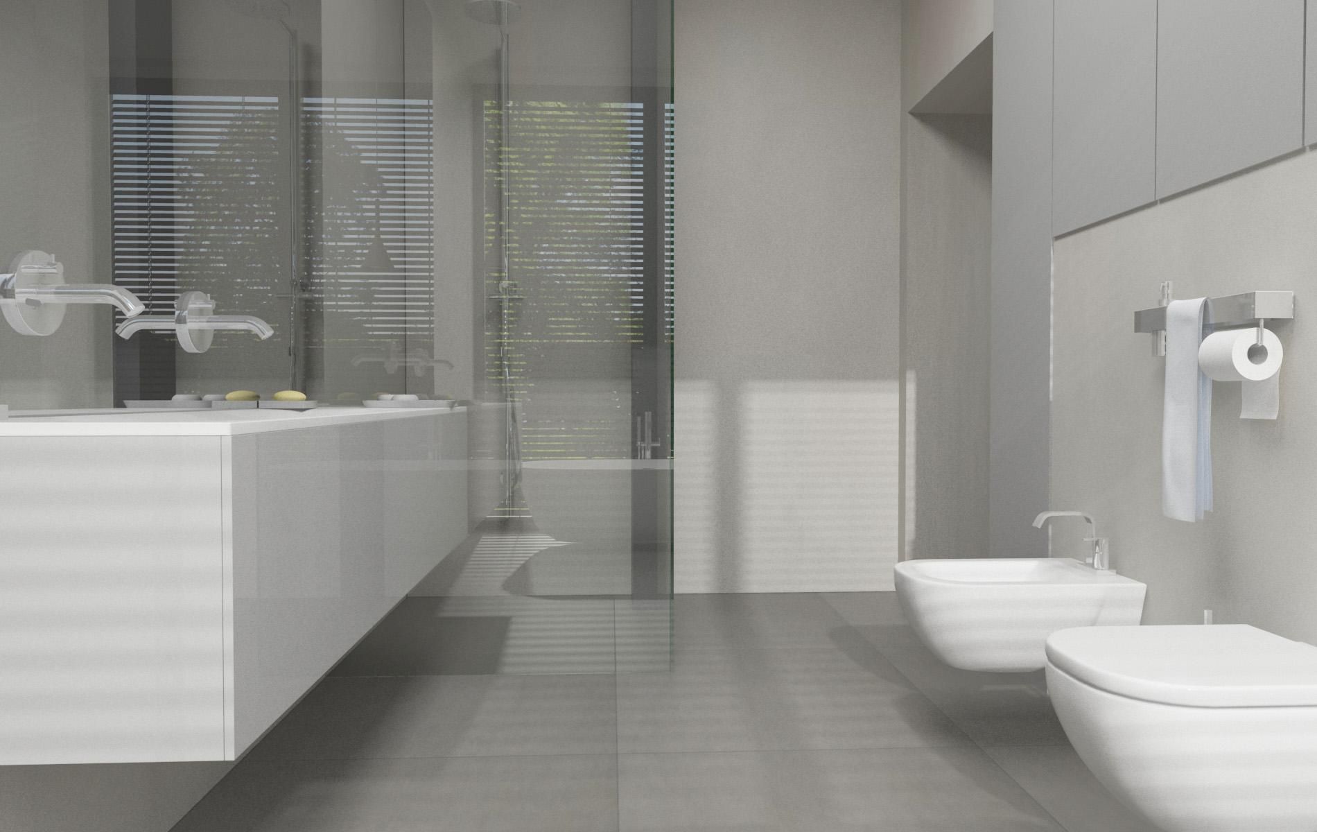 minimalistyczna �azienka w katowicach architektura oraz