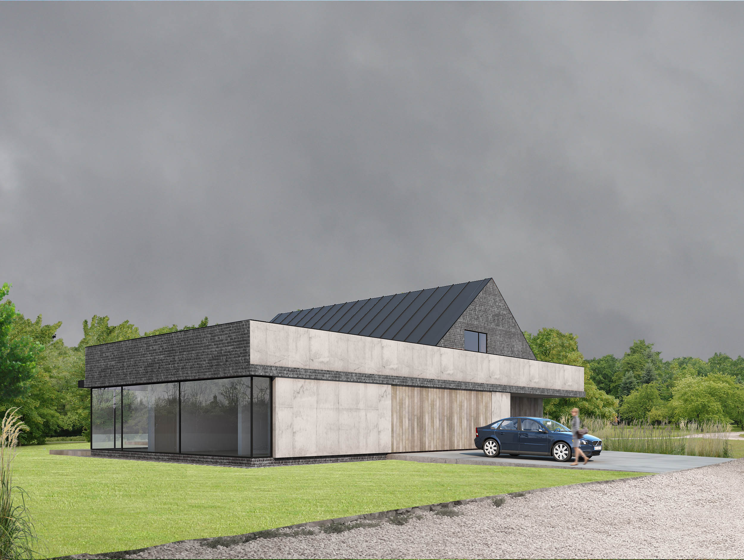 Projekty Domów Parterowych Bez Garażu Architektura Oraz Projektant